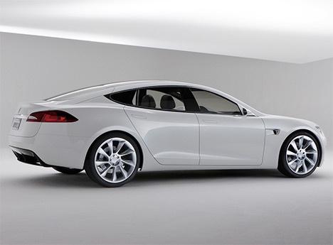 Kevin Rose Leaks Photos of Tesla Model S Electric Car : TreeHugger