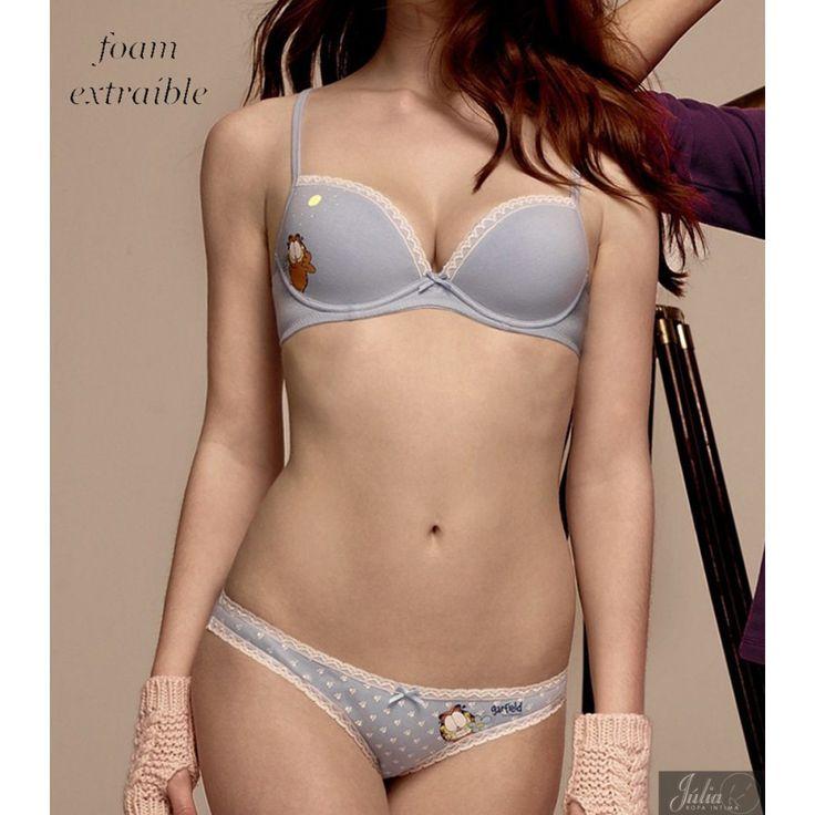 Hoy os traemos un conjunto especial para las chicas... Un conjunto de sujetador y braguitas con el Garfield más atrevido! http://www.ropainteriorjulia.es/tienda/comprar-sujetadores-online/660-conjunto-sujetador-braga-de-algodon-garfield-con-foam.html #Garfield #Gisela #IntimaJulia #sexy #love #sensual #underwear #woman