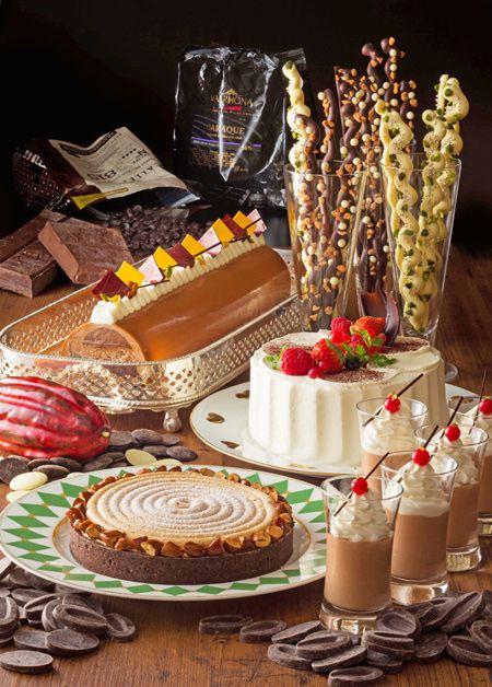 横浜ベイホテル東急のデザートブッフェ「スィートジャーニー」、世界のチョコレートを使用したケーキを満喫 | ニュース - ファッションプレス