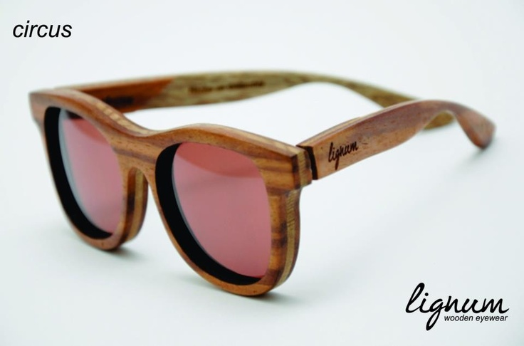 Circus frames by Lignum Wooden Eyewear