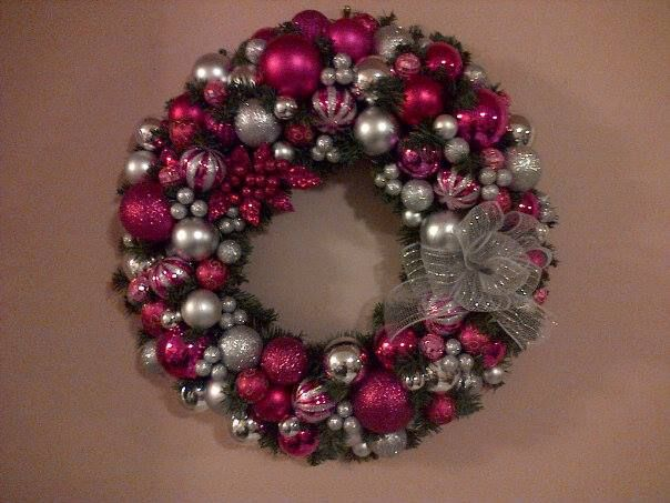 This was a huge hit with everyone and Katie, well, she was x-tatic when she finally got this wreath!