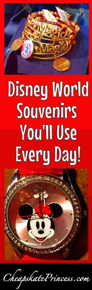 The Top Three Disney World Souvenirs You'll Use Every Day | plan a better Disney trip | Disney World tips #disney #disneyworld #disneysouvenirs