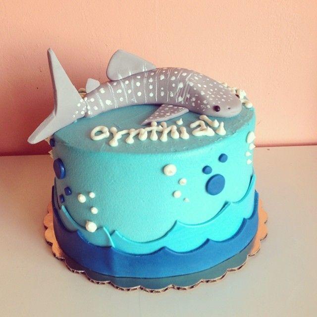 Beluga Whale Birthday Cake