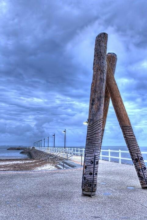 Wynnum Pier, Qld, Australia