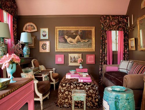 44 Pink And Blue RoomIdeas - Style Estate -