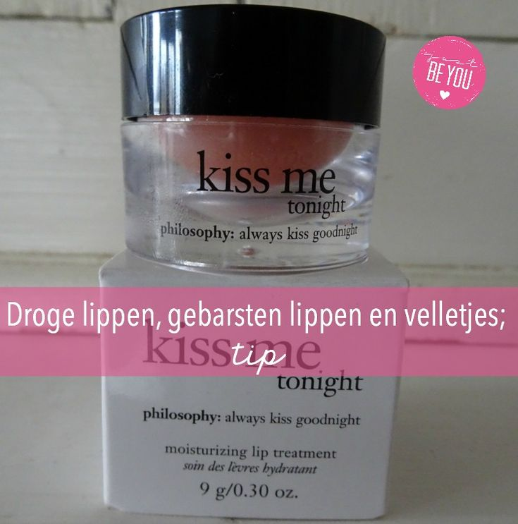 Droge lippen, gebarsten lippen en velletjes; tip