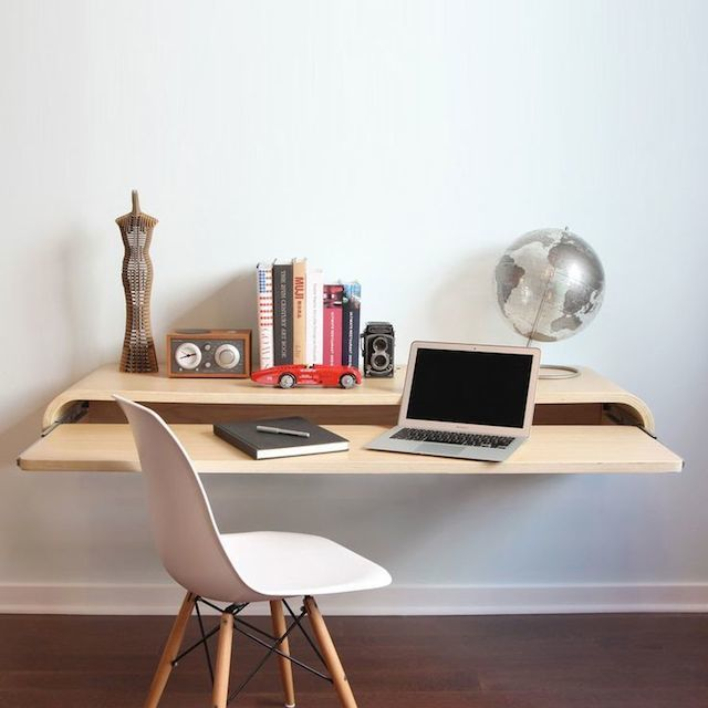Space Saving Built In Office Furniture In Corners: Best 25+ Space Saving Desk Ideas On Pinterest