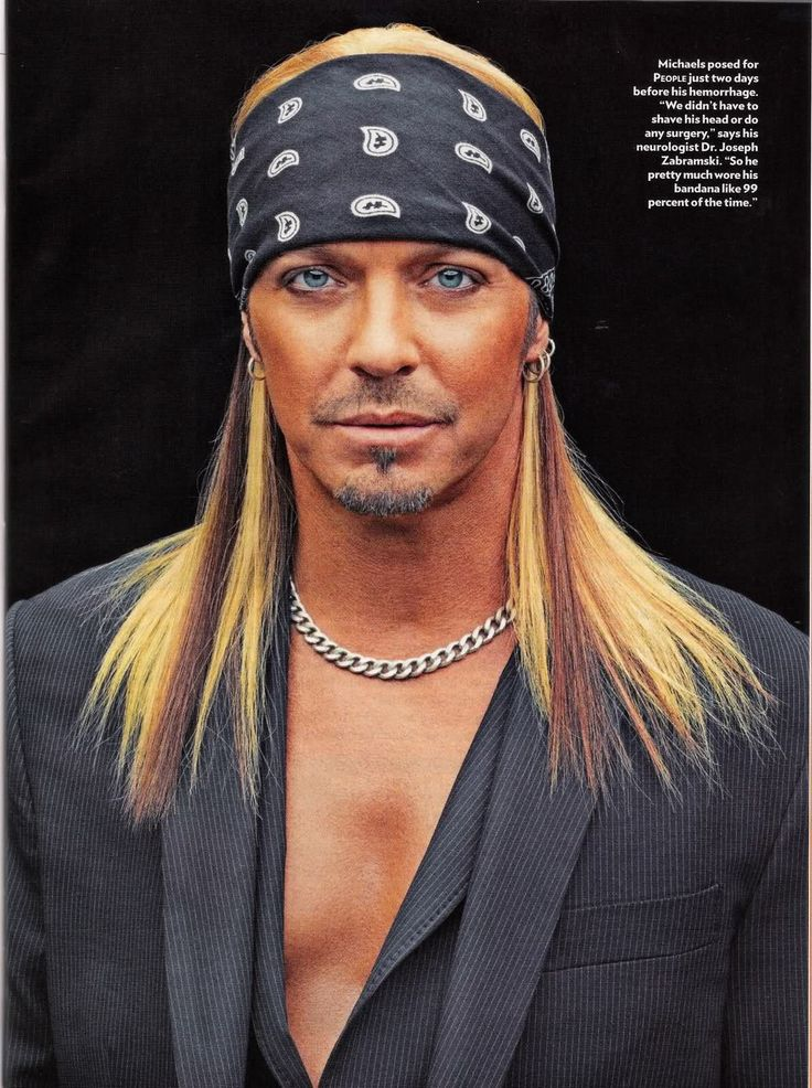 Scans from Bret Michaels' interview with People - Oh No They Didn't!