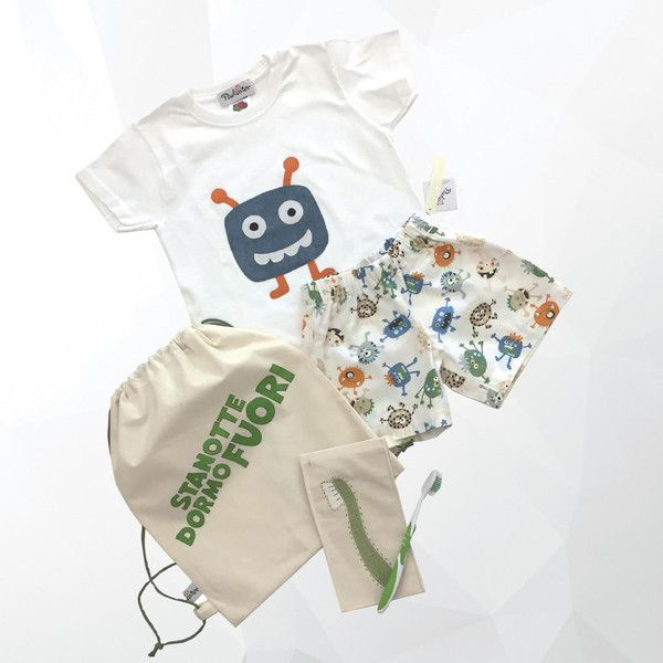 Pigiama - Pigiama da bambino, pigiama di cotone - un prodotto unico di Paulaster su DaWanda