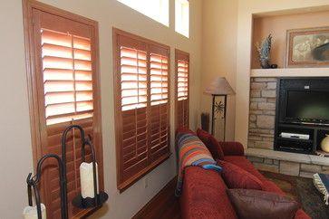 Arvada residence split tiltrods - transitional - Interior Shutters - Denver - Colorado Shade & Shutter