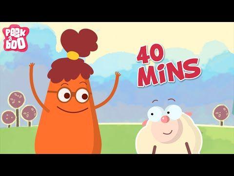 1 godzina piosenek dla dzieci - mega zestaw - kundel bury, krasnoludki, przedszkolaczek - YouTube