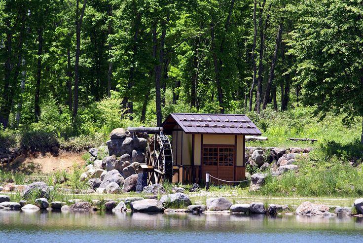 八ヶ岳ふれあい公園の水車小屋