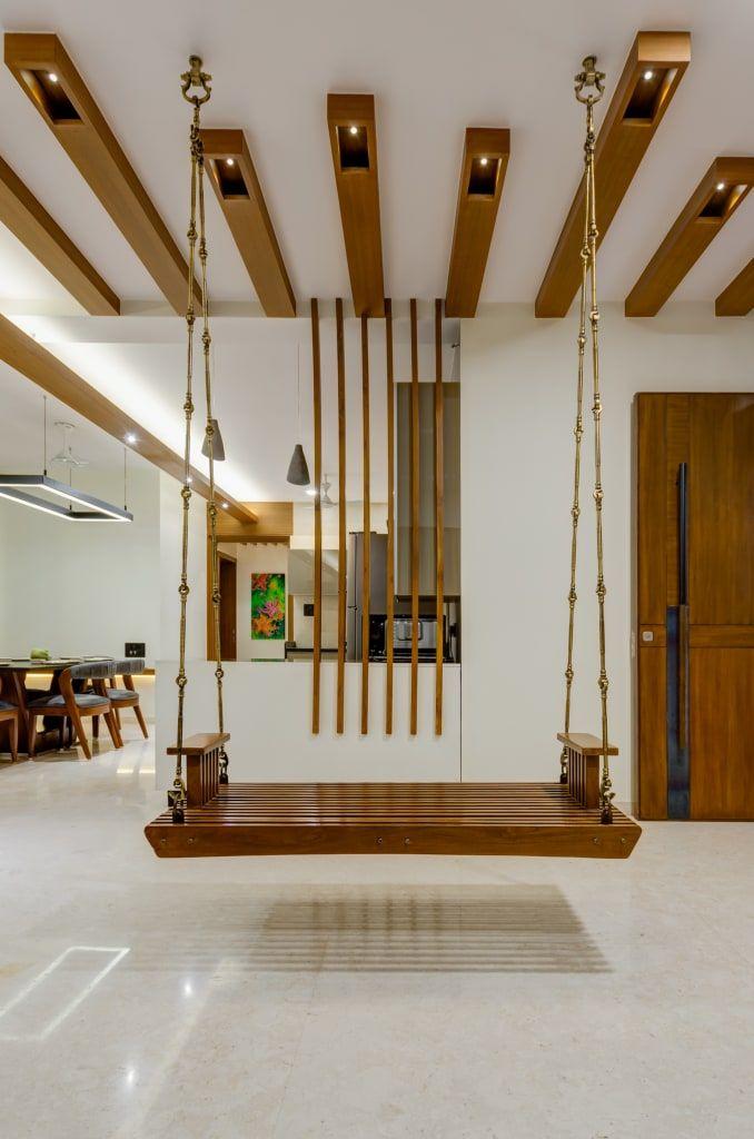 Interior 2 Modern Living Room By Studio Living Stone Modern Homify Ceiling Design Living Room Living Room Partition Design House Ceiling Design