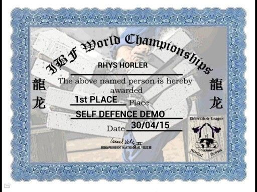 1st Place Street Self Defence Demo International Breaking Federation World Championships 2015