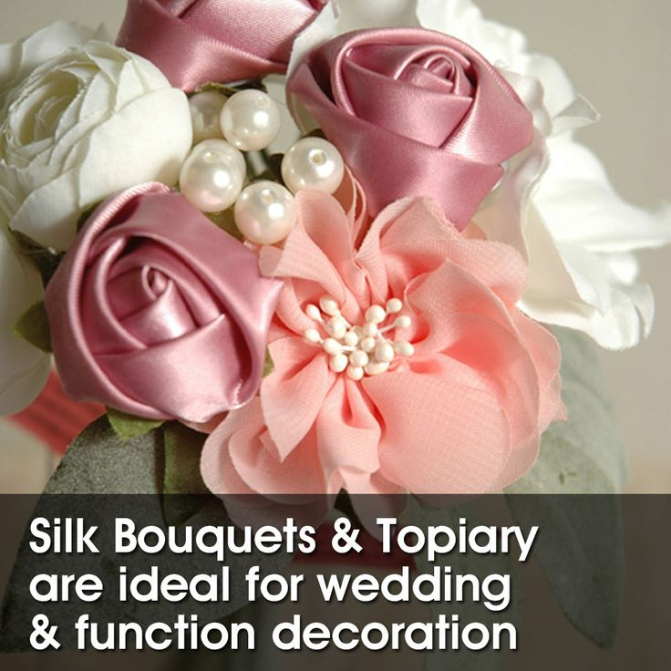Beautiful Silk Bouquets and Topiary NOW available directly from the importer and distributor, US! You can even design your own! Wholesale only. Message us your name, company and phone number and we will call you to discuss your enquiry.  http://www.almaimports.com.au/wedding-accessories.html