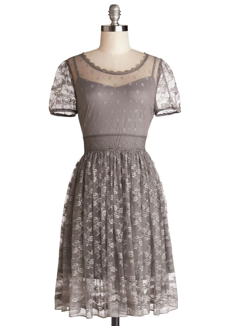 False heather lavender lace dresses