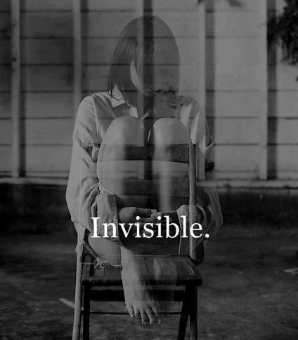 Resultado de imagen de invisibility tumblr
