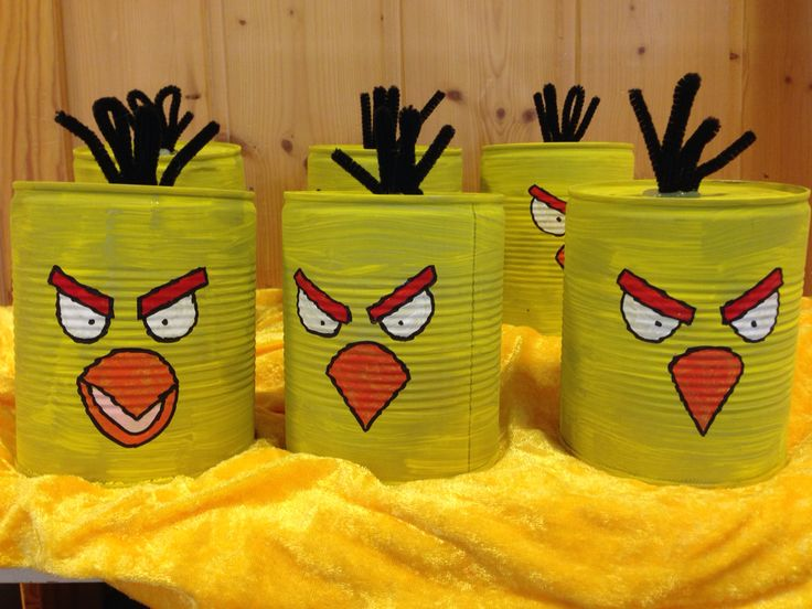Angry birds spill