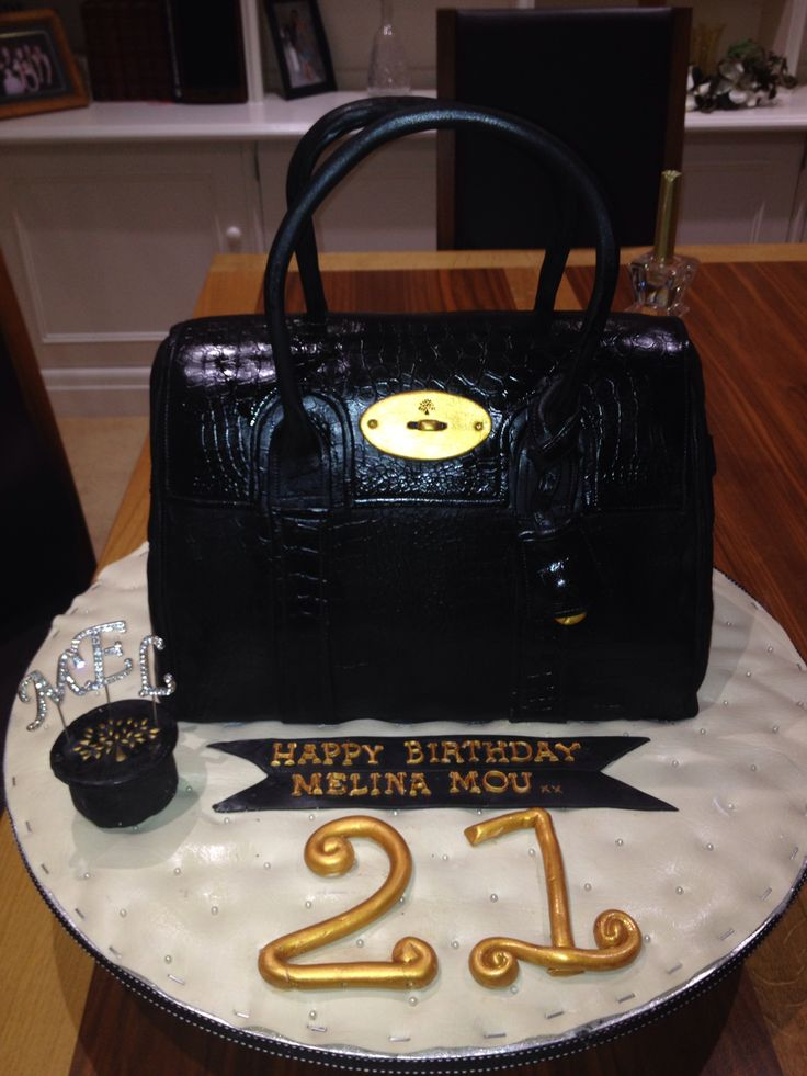 319 Best Images About Bag Shaped Cakes On Pinterest Shoe