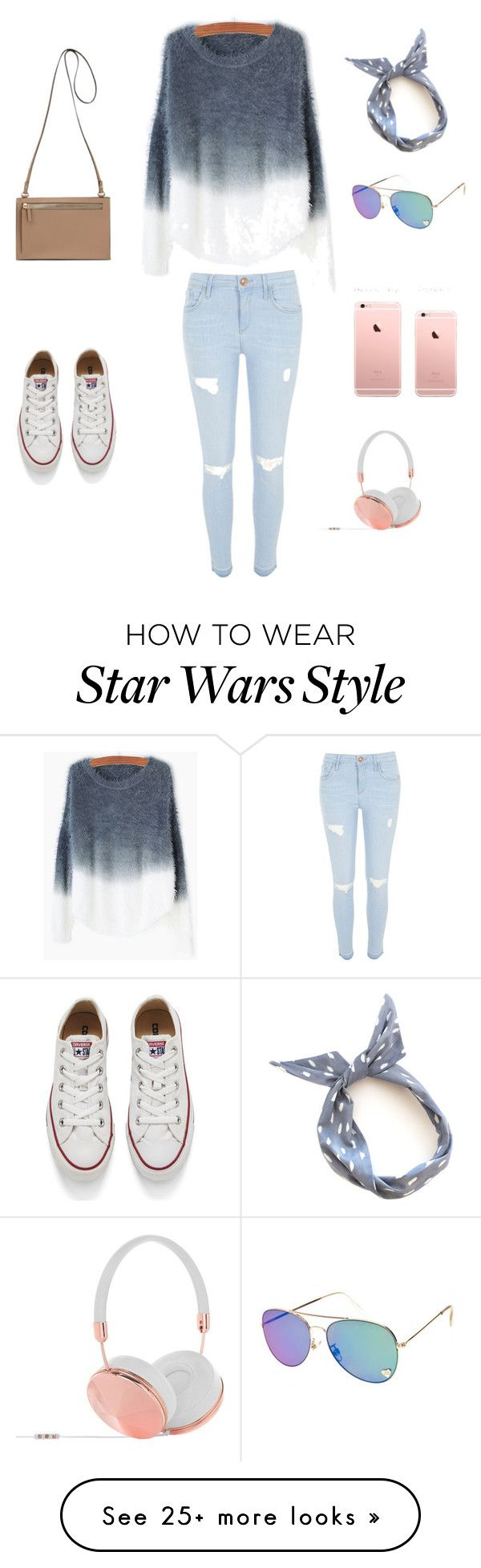Untitled #82 by licihinds on Polyvore featuring River Island, Converse, Frends, women's clothing, women's fashion, women, female, woman, misses and juniors