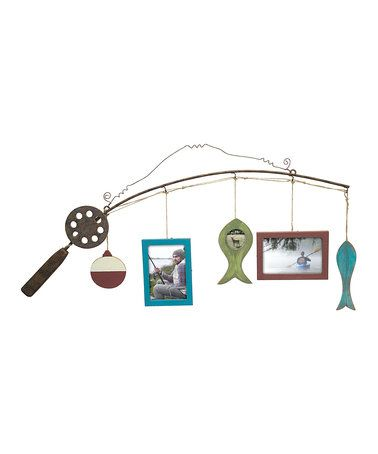 This Fishing Pole Frame is perfect! #zulilyfinds