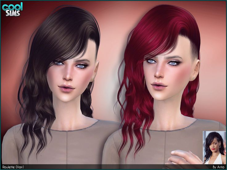 Extrêmement Les 25 meilleures idées de la catégorie Sims 4 curly hair sur  QV61