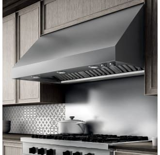 View The Elica Ecl148 1200 Cfm 48 Inch Wide Professional Grade Wall Mount Range Hood With Halogen Lighting Wall Mount Range Hood Range Hood Calabria