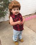 Joe Dirt Baby Homemade Costume - 2015 Halloween Costume Contest