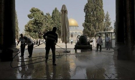 Zionis Kembali Gempur Kota Gaza
