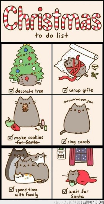 Lista de tareas navideñas