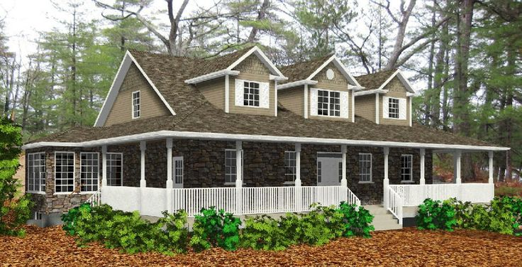 108 best images about home exterior ideas on pinterest for Cape cod floor plans with wrap around porch