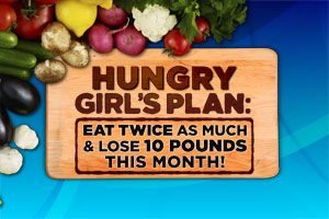 SO EXCITED FOR DR. OZ!! Tune in Monday 3/19! Hungry Girl's Plan: Eat Twice as Much and Lose 10 Pounds This Month!