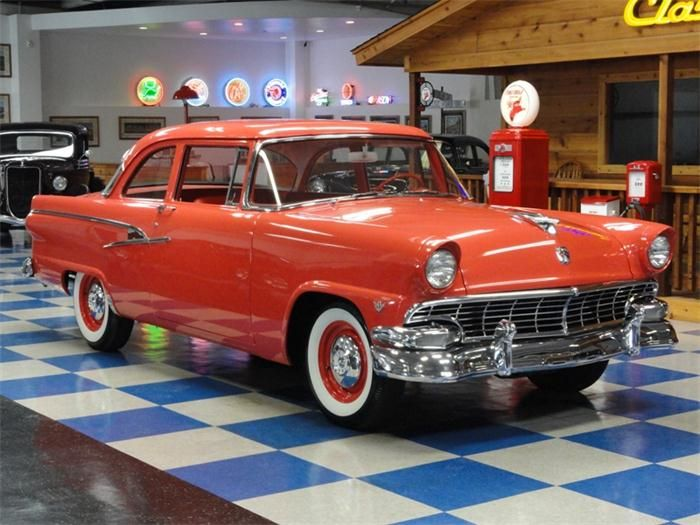 1956 ford mainline two door sedan classic fords for 1956 ford wagon 2 door