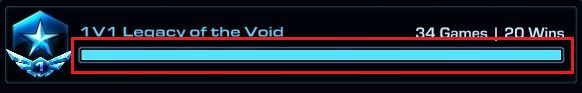 How about replacing these useless bars with current MMR and league progress? #games #Starcraft #Starcraft2 #SC2 #gamingnews #blizzard