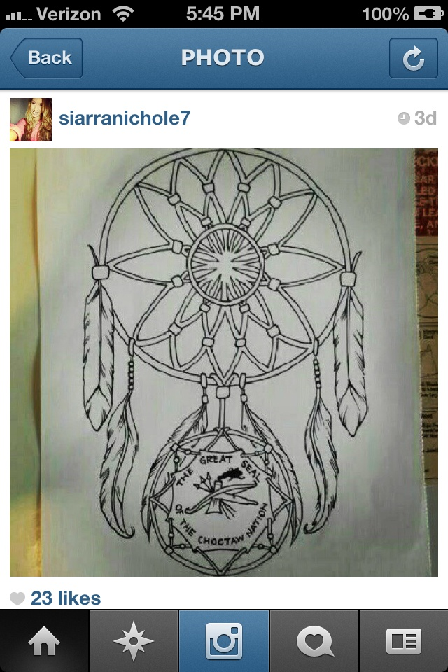 Choctaw tribe dream catcher t a t t o o s pinterest for Choctaw indian tattoos