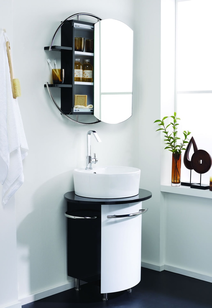 Bathroom mirror with shelf uk - Circular Mirror Cabinet Http Www Worldstores Co Uk