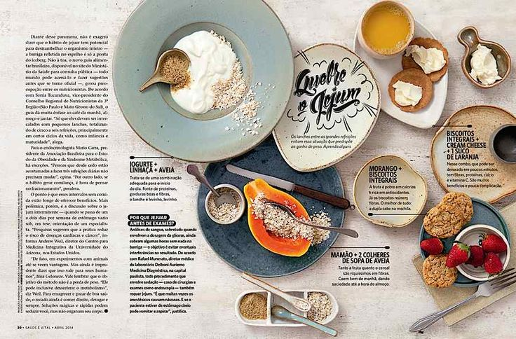 Editorial Design Inspiration: Saude Magazine | Abduzeedo Design Inspiration