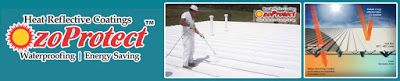 paint coating on roof to cool the rooms and for energy efficiency: Heat Reflective Coating,Cool Roof Coatings,Summer ...