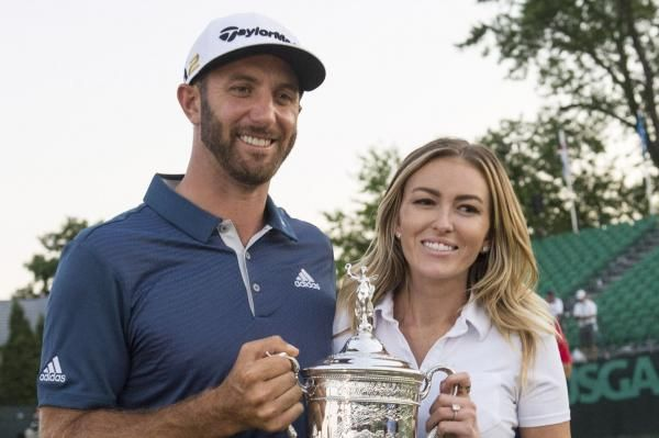 Annie Martin Feb. 20 (UPI) -- Paulina Gretzky, model and daughter of retired NHL star Wayne Gretzky, announced she's pregnant and expecting…