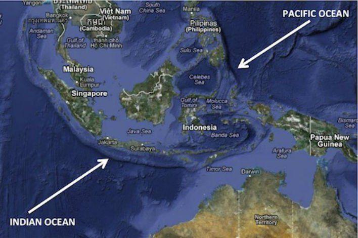 Negeri Di Antara Dua Lautan