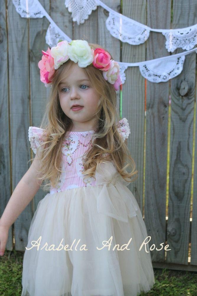 The sweet meadow tulle dress