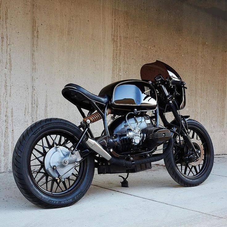 BMW R65 Cafe Racer, oldschoolbikes:   bike-exif:   There's a new...