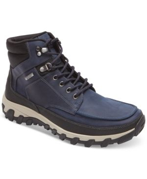 Rockport Men's Cold Springs Plus Moc Waterproof Boots - Blue 10.5W