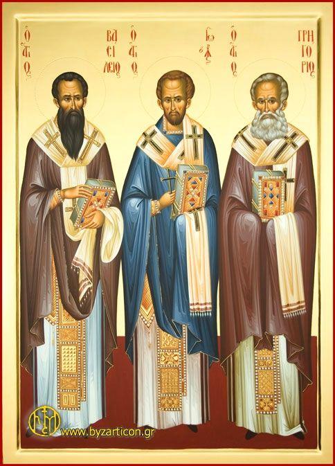 Sts Basil the Great, John Chrysostom & Gregory the Theologian