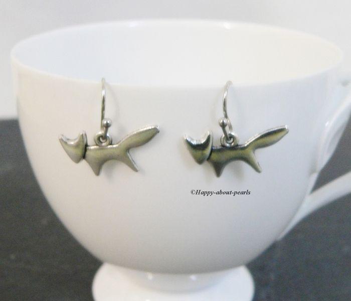 Ohrringe Fuchs von Happy-about- Pearls auf DaWanda.com
