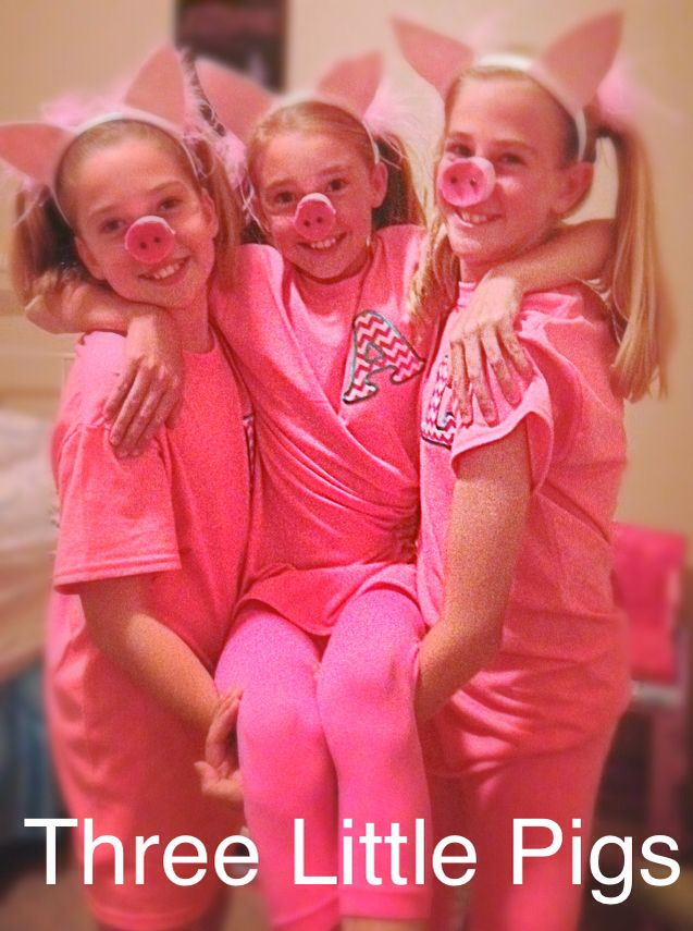 Cute Halloween costume Three Little Pigs More  sc 1 st  Pinterest & The 45 best Halloween Trios images on Pinterest | Costume ideas ...