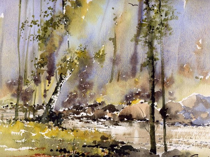 trevor chamberlain watercolor paintings | To recap: John Christian's watercolour painting holiday will run ...