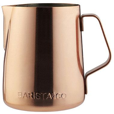 Barista & Co Copper Milk Jug - from Lakeland