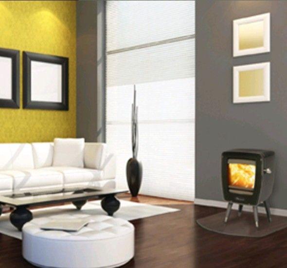 Dovre Vintage 30  #Kampen #Fireplace #Fireplaces #Interieur #Kachelplaats
