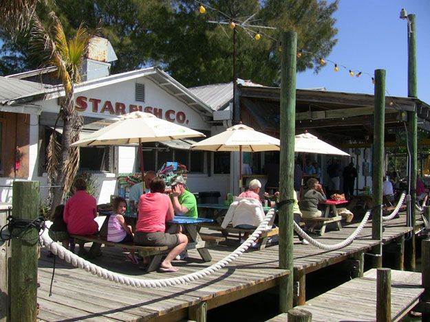 Starfish Restaurant Cortez Village Bradenton Florida